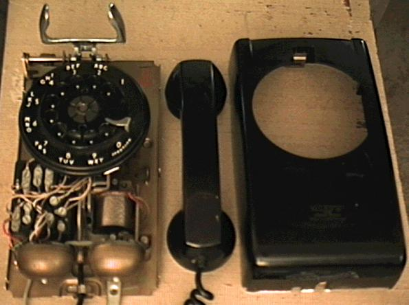 Wiring Diagram Rotary Phone : Wiring diagram for old rotary phone