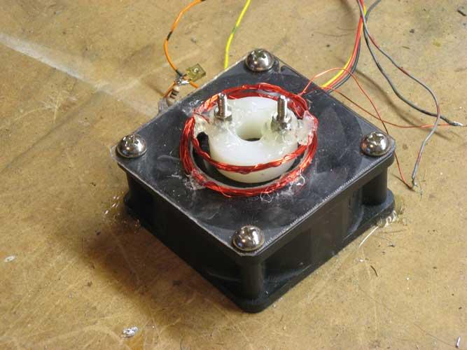 Propeller Clock Kit : Persistence of vision propeller clock
